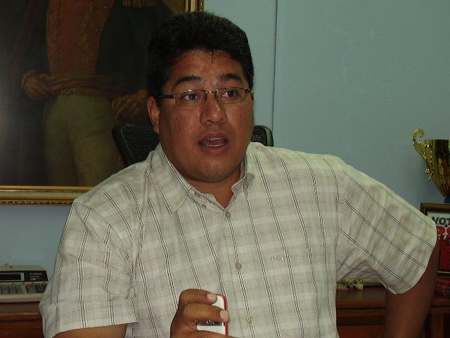 Pedro Martínez: los primeros días de gobierno, hemos invertido una serie de acciones con el objeto de reorganizar la institución