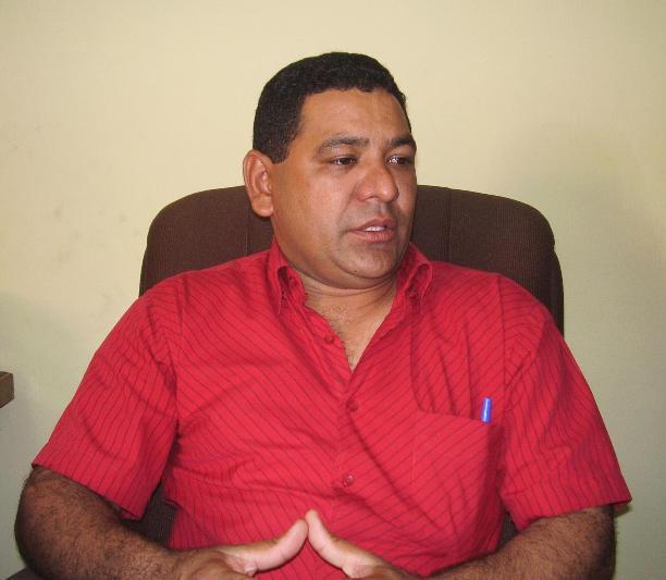 Pedro Rodríguez, nuevo director de Deporte y recreación de Guanipa. Foto Carlos Blanco.